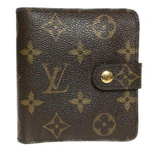 Louis Vuitton Monogram Compact Zip Wallet!